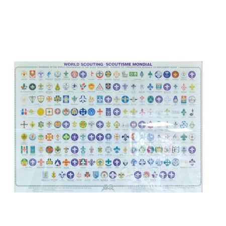 世界各國童軍徽圖表