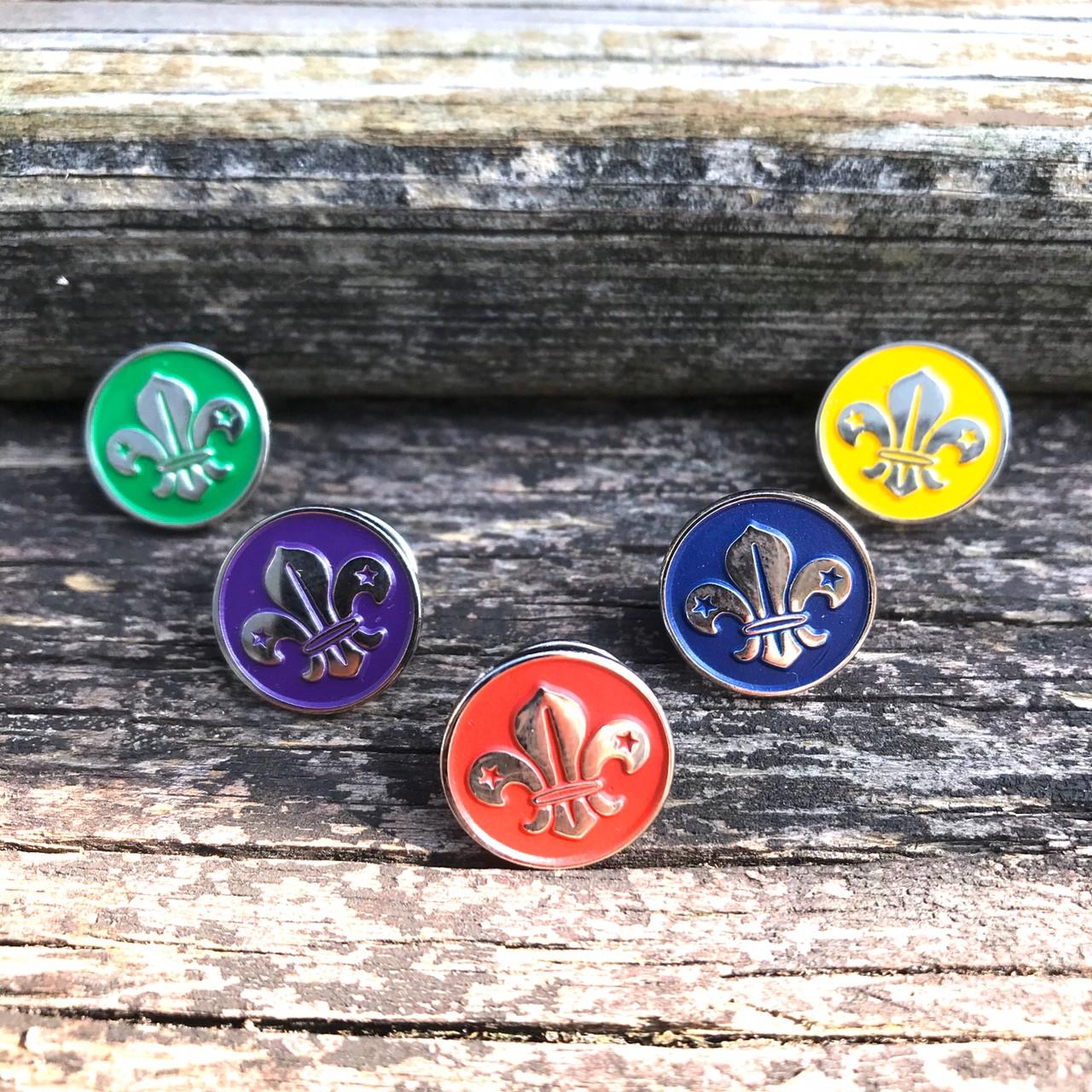 世界徽小徽章組(全套5色 整組購買)