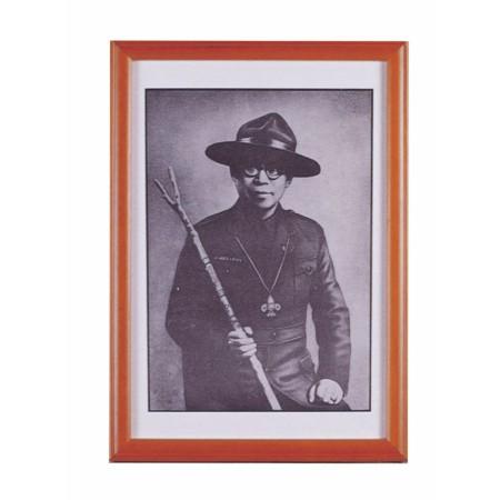 童軍創始人嚴家麟照片(含框)