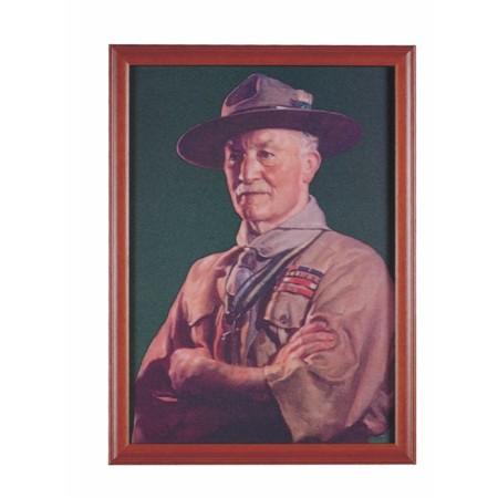 貝登堡彩色照片(含框)