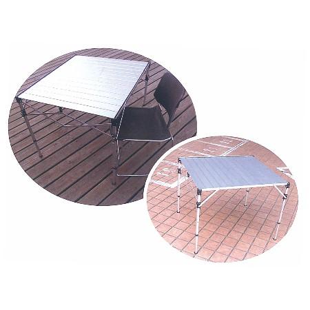 鋁合金摺疊餐桌