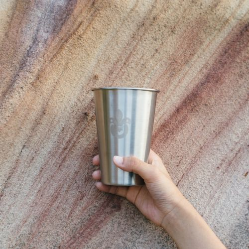oldscout® 304不鏽鋼露營啤酒杯