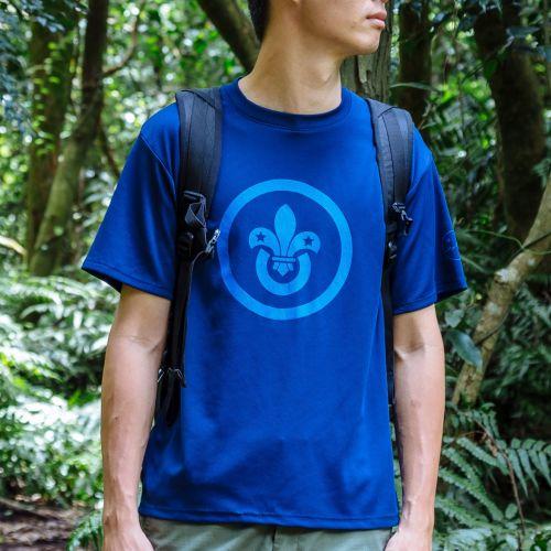 SUBURBS™ oldscout® LOGO機能抗UV排汗衣・4色
