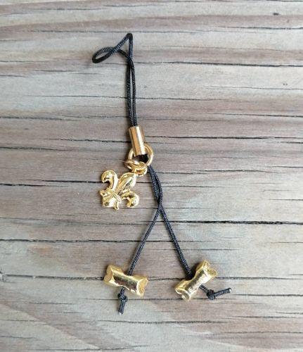 木章手機吊飾(2顆)
