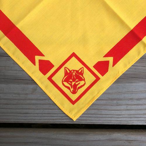 幼童軍領巾(黃底紅邊)