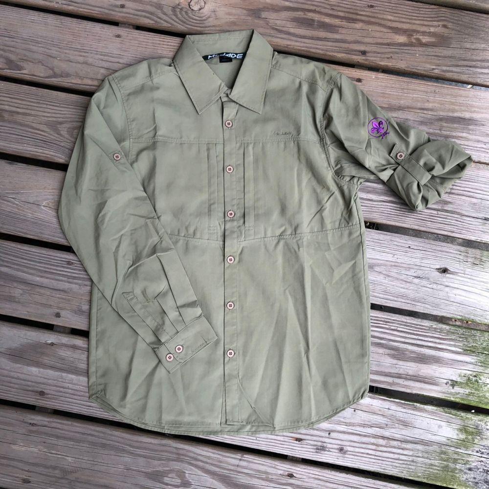 防蚊襯衫【長袖】--墨綠