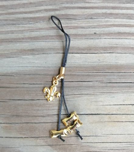 木章手機吊飾(3顆)