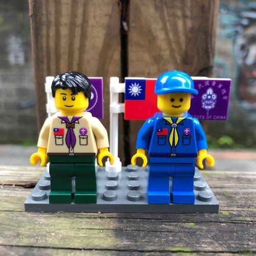 童軍人偶組/公仔-LEGO樂高正品製作