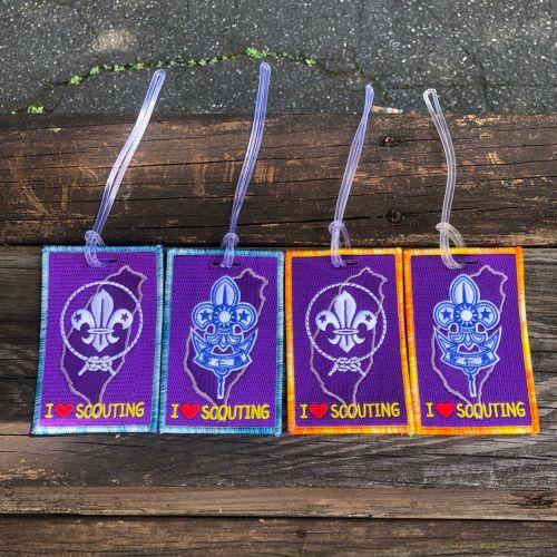 行李吊牌(世界徽 /童軍徽)-顏色隨機