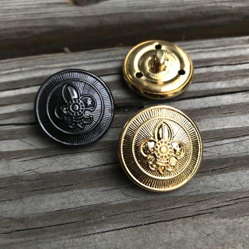 大銅釦-禮服用(古銅/金)