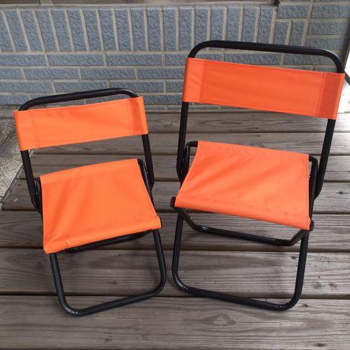 折疊靠背椅(童軍椅) -大、 小